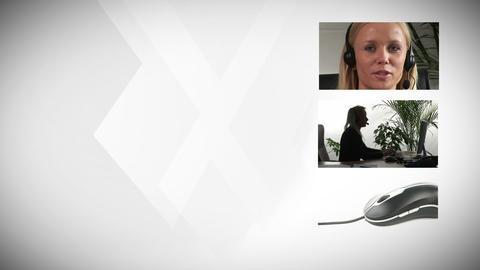 Businesswoman Working Indoors Stock Video Footage