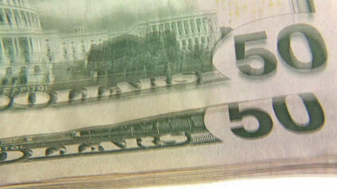 Dollar Notes Footage