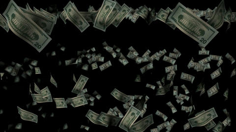 Raining Money Animation