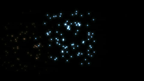 Stock Animation of fireworks Stock Video Footage