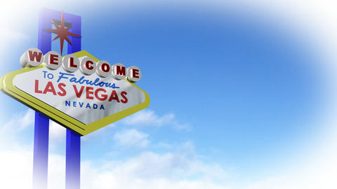 Vegas Sign in CGI Footage