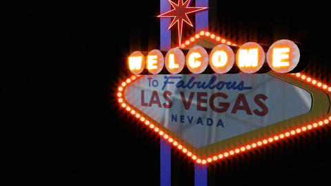 LAS VEGAS SIGN 4 Footage