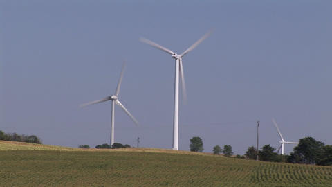 WindTurbine 3 Stock Video Footage