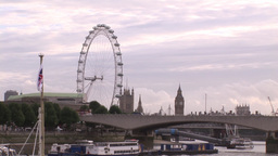 London Cityscape 1 Stock Video Footage