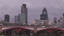 London Cityscape 4 Footage