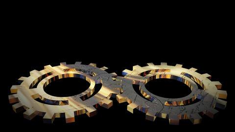 Gears in Motion Footage