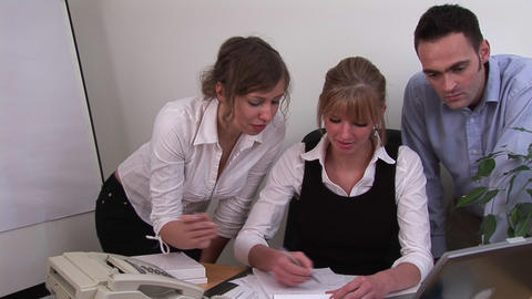 Business team working together Footage
