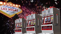 Vegas Celebration Stock Video Footage
