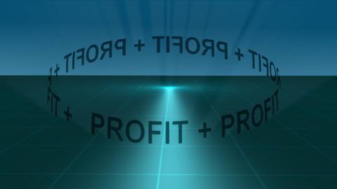 Stock Animation Profit Orbit Stock Video Footage