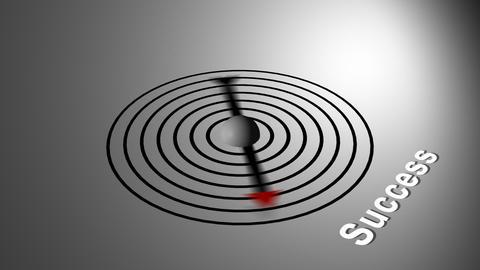Success Compass Stock Video Footage