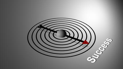Success Compass stock footage