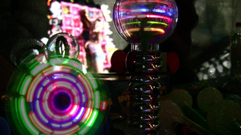 lighting toys Stock Video Footage