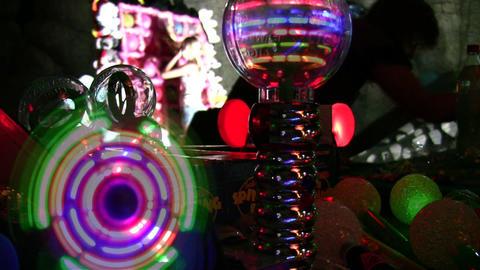 lighting toys Stock Video Footage