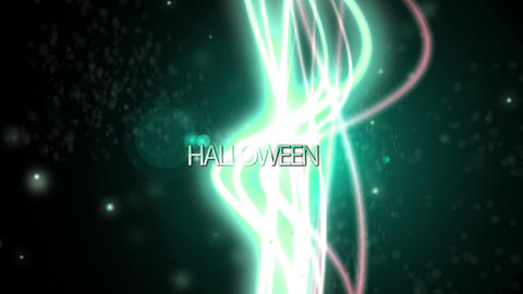 Halloween particle background - Spooky - Fantasy Stock Video Footage