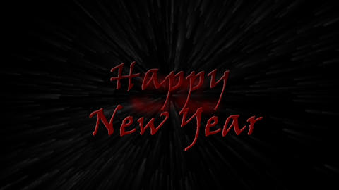 Happy New Year 2010 to 2011 explosion - Holiday -... Stock Video Footage