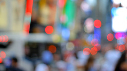 Blurred Crowd Stock Video Footage