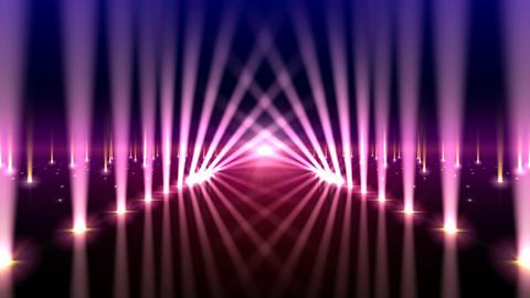 Floor Lighting AfB2 Stock Video Footage