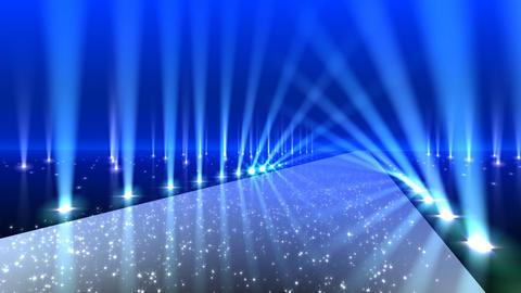 Floor Lighting AnB3 Stock Video Footage