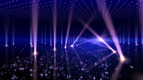 Floor Lighting AnK1 Stock Video Footage
