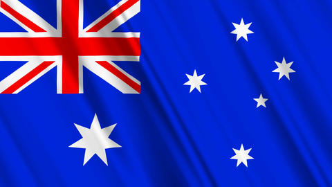 AustraliaFlagLoop01 Animation