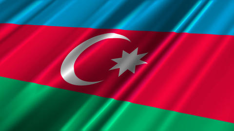 AzerbaijanFlagLoop02 Animation