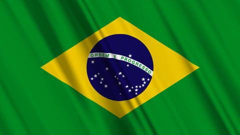 BrazilFlagLoop01 Animation