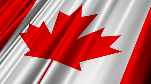 CanadaFlag02 Stock Video Footage