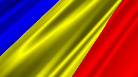 RomaniaFlagLoop02 Animation