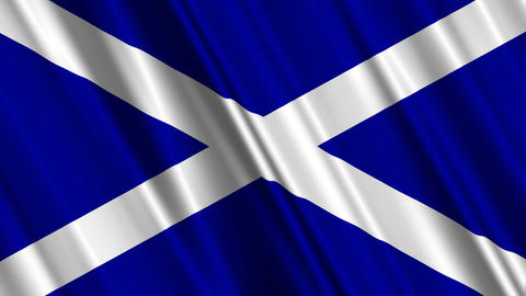 ScotlandFlagLoop01 Animation