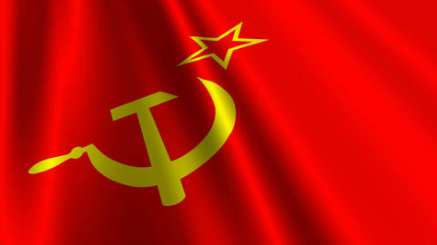 SovietFlagLoop03 Animation
