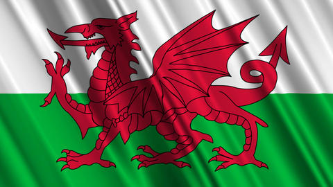 WalesFlagLoop01 Animation