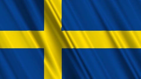 SwedenFlagLoop01 Animation