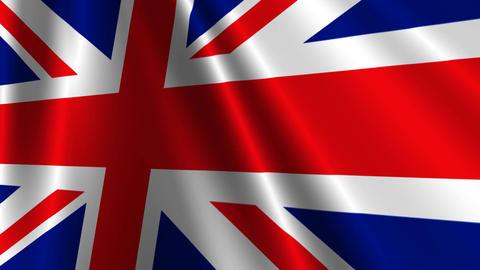 UKFlag03 Stock Video Footage