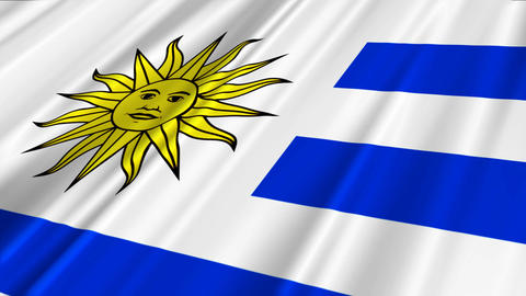 UruguayFlagLoop02 Animation