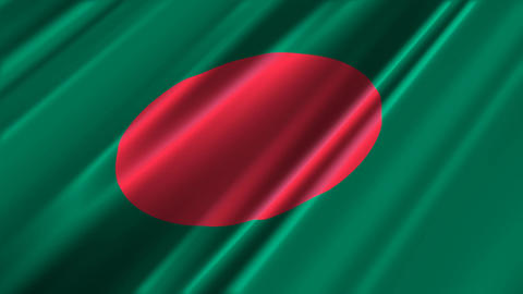 BangladeshFlagLoop02 Animation