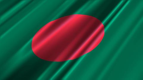 BangladeshFlagLoop02 Animation