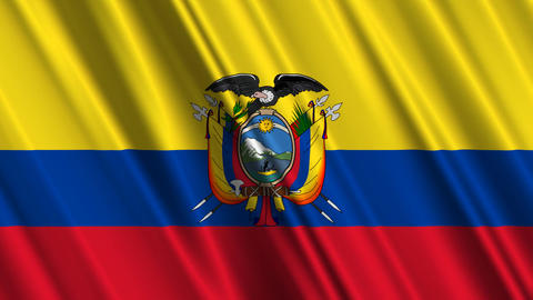 EcuadorFlagLoop01 Animation