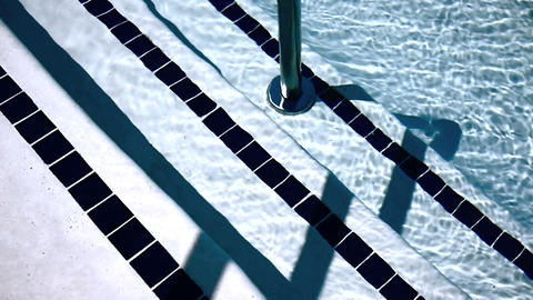 Swimming pool Stock Video Footage