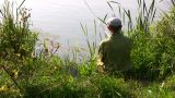Fisherman stock footage
