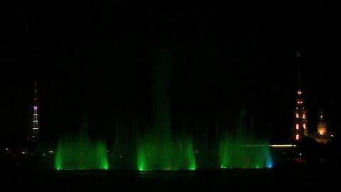fountain on Neva Footage