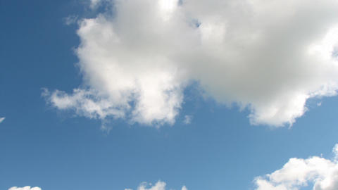Time lapse clouds Stock Video Footage