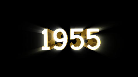Year 1955 a HD Animation