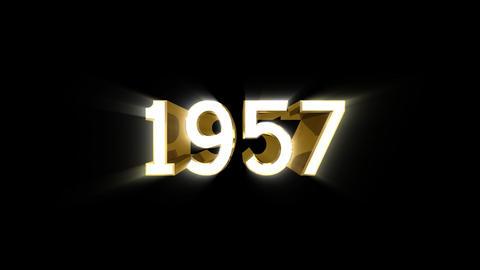 Year 1957 a HD Animation