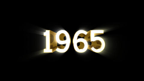 Year 1965 a HD Animation