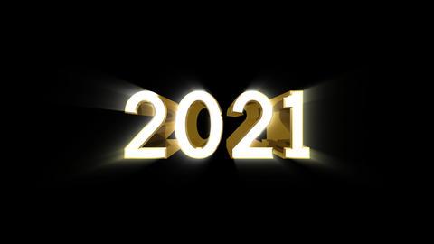 Year 2021 a HD CG動画