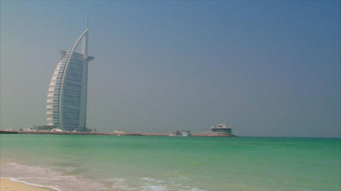 Burj al Arab Stock Video Footage