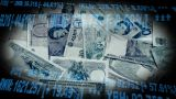 Stock Money Montage Clean Standing stock footage