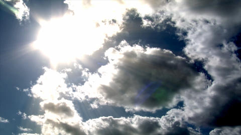 dramatic clouds time lapse Stock Video Footage
