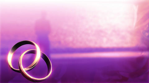 Wedding Background stock footage