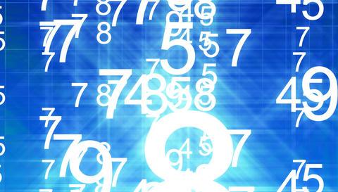 Stock Market numbers animation Animation